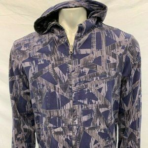 Armani Exchange Men's L purple Black sweatshirt